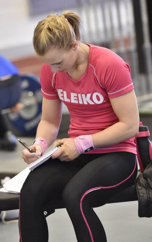 Angelica Roos, Mossebergs AK, träningsdagbok