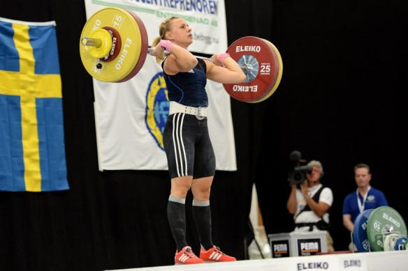 D, 63kg, Stöt Nr Namn Klubb Vikt Stöt1 Angelica Roos Mossebergs AK , 113